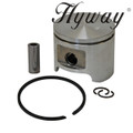 HUSQVARNA  350, 351, 353. JONSERED, 2152 HYWAY 45MM PISTON AND RING ASSEMBLY 537223602