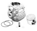 CYLINDER AND PISTON KIT FOR STIHL TS410, TS420 CONCRETE CUT OFF SAWS 42380201202