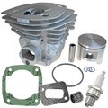 HUSQVARNA 346XP, TOP END REBUILD KIT CYLINDER PISTON ASSEMBLY NEW