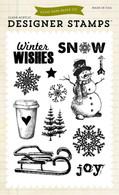 Joyful Winter 4x6 Stamp