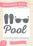 At The Pool Die Set