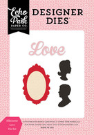 Silhouette Love Die Set
