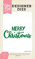 Merry Christmas #2 Word Die Set