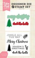 Christmas Greetings Die/Stamp Set