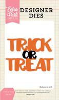 Trick or Treat Word Die Set