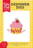 Berry Sweet Cupcake Die Set