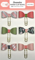 Rock-a-Bye Baby Girl Decorative Paper Clip Bows