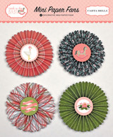 Rock-a-Bye Baby Girl Decorative Mini Paper Fans