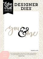 You & Me Word Die Set
