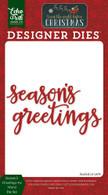 Season's Greetings #2 Die Set