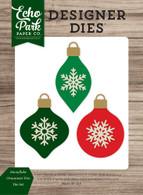 Snowflake Ornament Trio Die Set