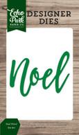 Noel Word Die Set