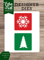 2x2 Layering Snowflake-Tree Die Set
