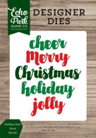 Holiday Cheer Word Die Set