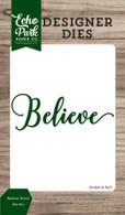 Belive Word Die Set