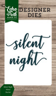 Silent Night Word Die Set