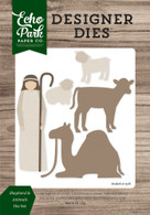 Shepherd & Animals Die Set