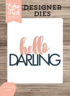Hello Darling Word Die Set