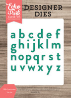 Milo Lowercase Die Set