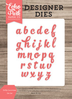 Holly Lowercase Die Set