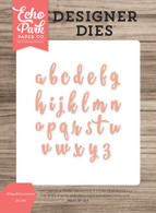 Abigail Lowercase Die Set