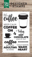 But First Coffee 4x6 Stamp