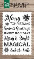 Magical Christmas 4x6 Stamp