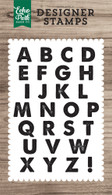 Nixon Alphabet 4x6 Stamp