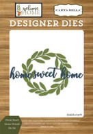 Home Sweet Home Wreath Die Set