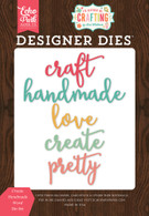 Create Handmade Word Die Set