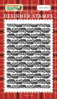 Calico Damask Background Stamp