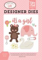 It's A Girl Die Set