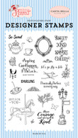 Practically Perfect Stamp