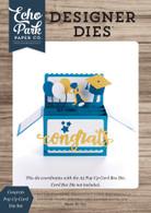 Congrats Pop Up Card Die Set