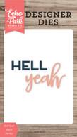 Hell Yeah Word Die Set