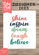 Inspire Word Die Set