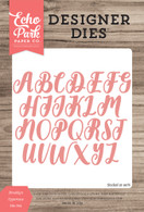 Brooklyn Uppercase Die Set