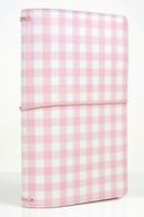 Pink Gingham Travelers Notebook