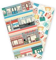 Metropolitan Girl Travelers Notebook Insert - Daily Calendar