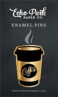 Coffee Cup Enamel Pin