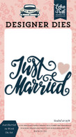 Just Married #2 Word Die Set
