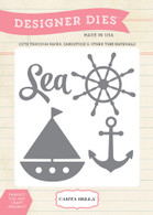 Sea, Ship & Anchor Die Set