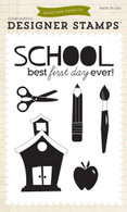 Back To School 4x6 Stamp Set