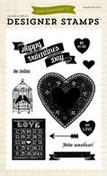 Hello Sweetheart 4x6 Stamp