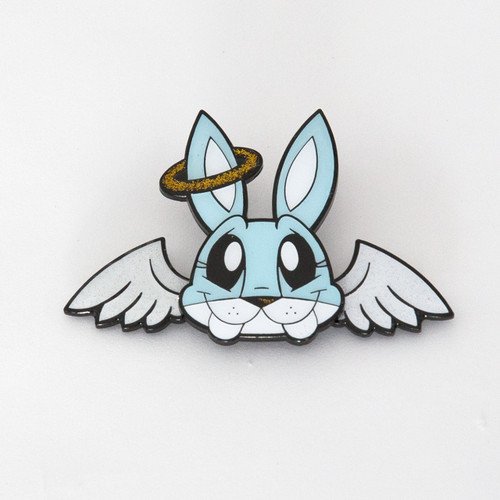Angel Bunny Pin