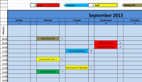 Printable Calendar 2015 Daily View
