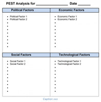 Amazing The Business Tools Store With Pest Analysis Template Word