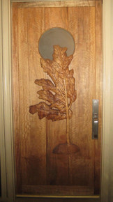 Koa Door Carving