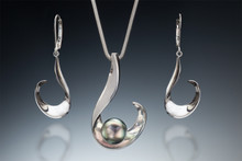 Spirit of a Wave Collection in sterling silver