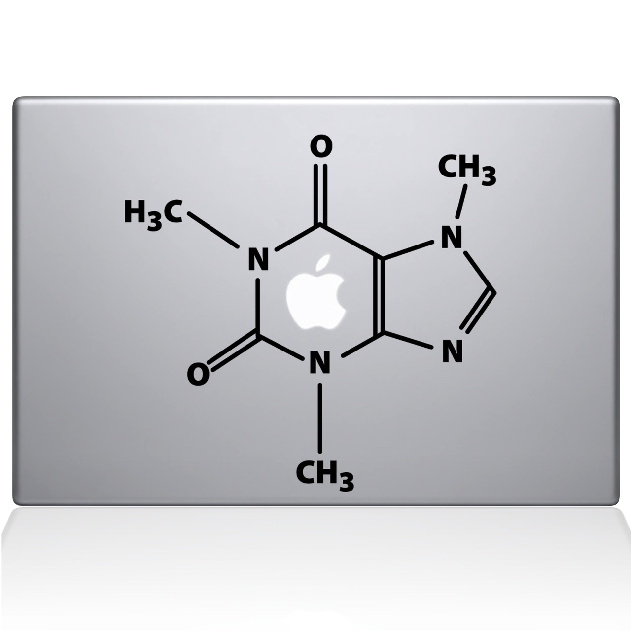 Geek Mac Decal Sticker